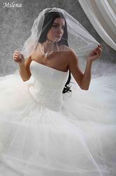 Свадебное платье,   размер 40-44.
