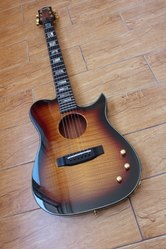 Продам электроакустическую гитару Carvin AC275 USA
